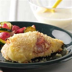 Oven Chicken Cordon Bleu Recipe