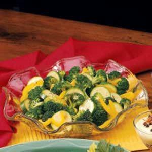 Vinaigrette Vegetables Recipe