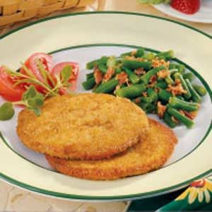 Breaded Turkey Slices Recipe