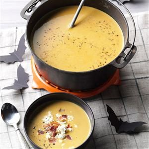 Anti-Vampire Potion (Butternut Squash & Garlic Soup) Recipe