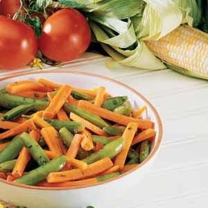 Peas and Carrots with Mint Recipe
