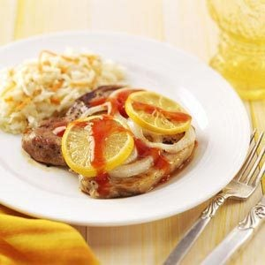 Lemon Pork Chops Recipe