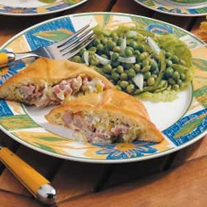 Creamy Ham Turnovers Recipe