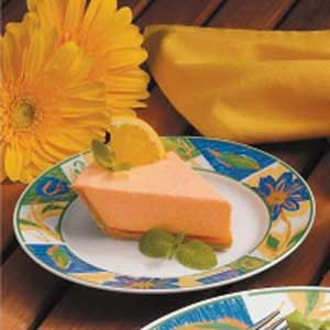 No-Bake Orange Chiffon Pie Recipe