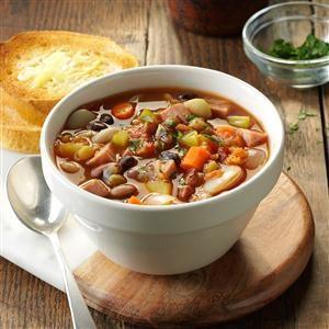 Provencal Ham & Bean Soup