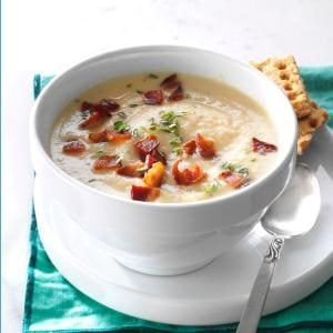 Creamy Root Veggie Soup Recipe