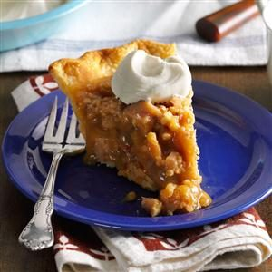 Butterscotch Pie with Walnut-Bacon Toffee Recipe