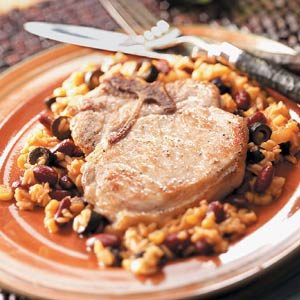 Mexican-Style Pork Chops Recipe