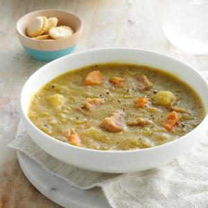 Slow-Cooked Split Pea Soup Recipe