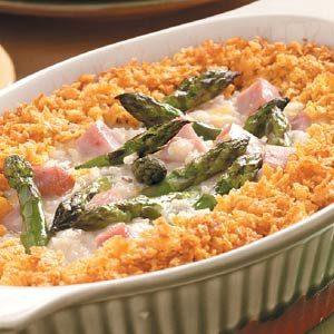 Asparagus Ham Bake Recipe