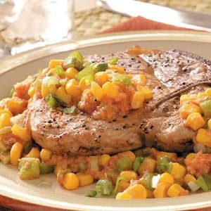 Corny Pork Chops Recipe