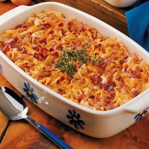 Bacon Tomato Casserole Recipe