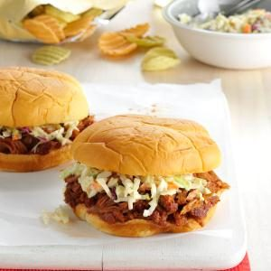 Slow Cooker Sweet & Spicy Pulled Pork Recipe