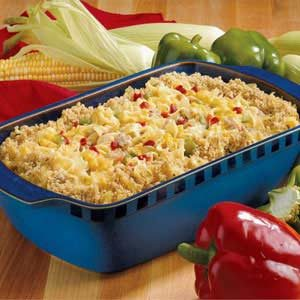 Pork and Corn Casserole Recipe