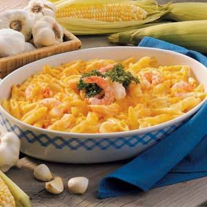 Cheddar Shrimp and Penne Recipe