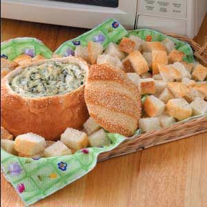Creamy Swiss Spinach Dip Recipe