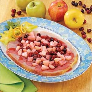 Cran-Apple Ham Slice Recipe