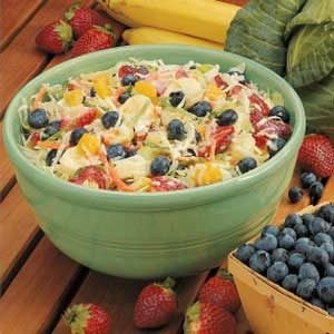 Fruit Coleslaw Recipe
