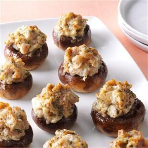 Best-Ever Stuffed Mushrooms Recipe