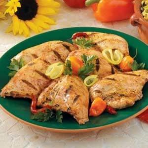 Yogurt-Marinated Chicken Recipe