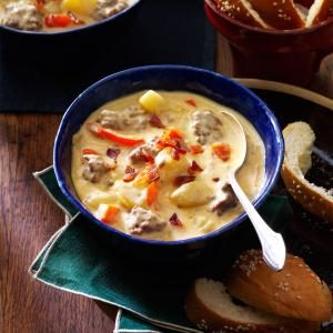 Bacon-Cheeseburger Chowder
