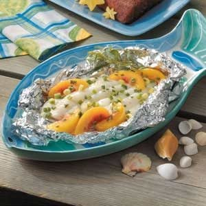 Grilled Sole with Nectarines Recipe