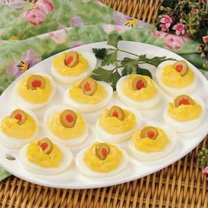 Makeover Deviled Eggs Recipe