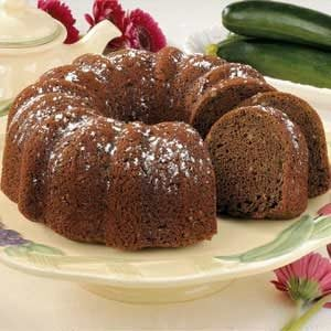 Makeover Chocolate Zucchini Cake Recipe