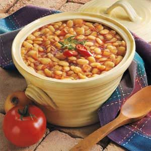 Barbecued Lima Beans Recipe