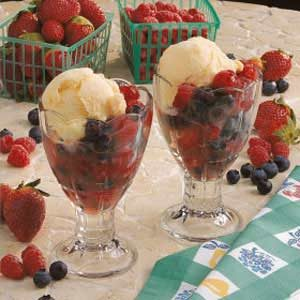 Finnish Berry Dessert Recipe