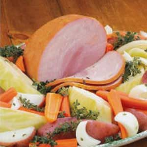 Boiled Ham Dinner Recipe