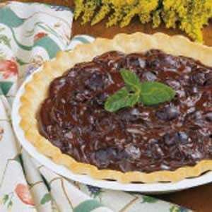 Cherry Chocolate Pie Recipe
