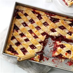 Apple Cranberry Slab Pie Recipe