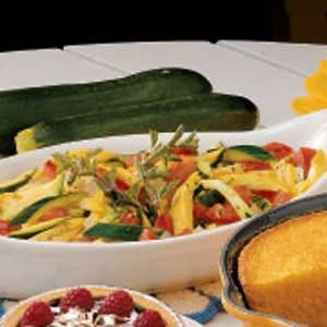 Savory Summer Squash Recipe