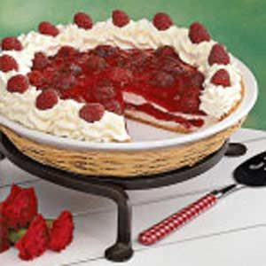 Contest-Winning Raspberry Ribbon Pie Recipe