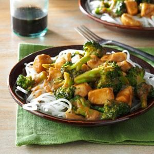 Peanut Chicken Stir-Fry Recipe