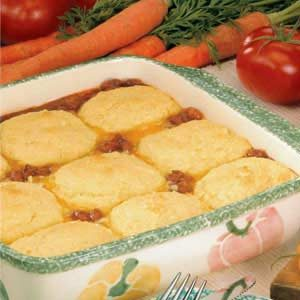 Corn Bread Chili Bake Recipe