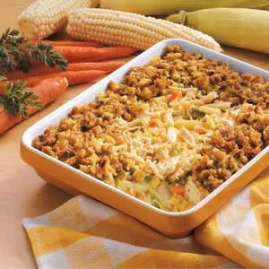 Crunchy Chicken Bake Recipe
