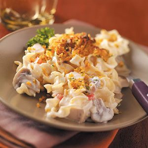 Tasty Chicken Noodle Casserole
