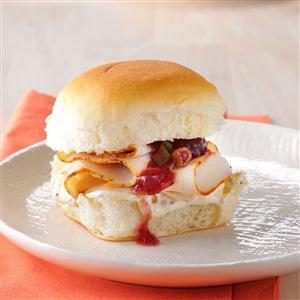 Festive Holiday Sliders Recipe