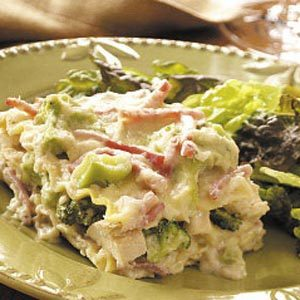 Broccoli Chicken Lasagna Recipe