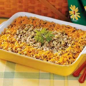 Black-Eyed Pea Casserole Recipe