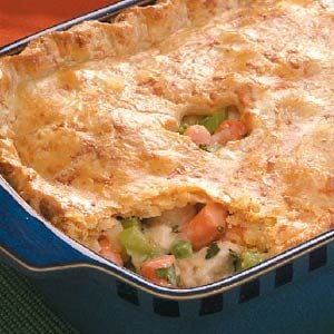 Homemade chicken pot pie recipes easy