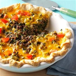 Spinach Beef Pie Recipe