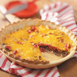 Beef and Cheese Pie Recipe