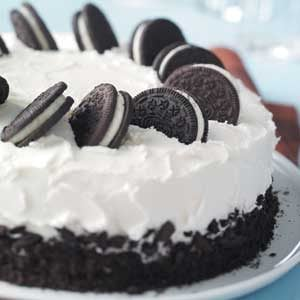 Cookies-and-Cream Cake Recipe