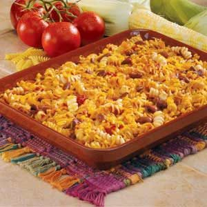 Meatless Chili Bake Recipe