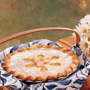 Glazed Pineapple Pie Recipe
