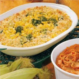 Broccoli Corn Bake Recipe