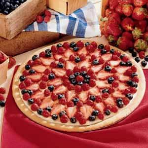 Vanilla Cream Fruit Tart Recipe